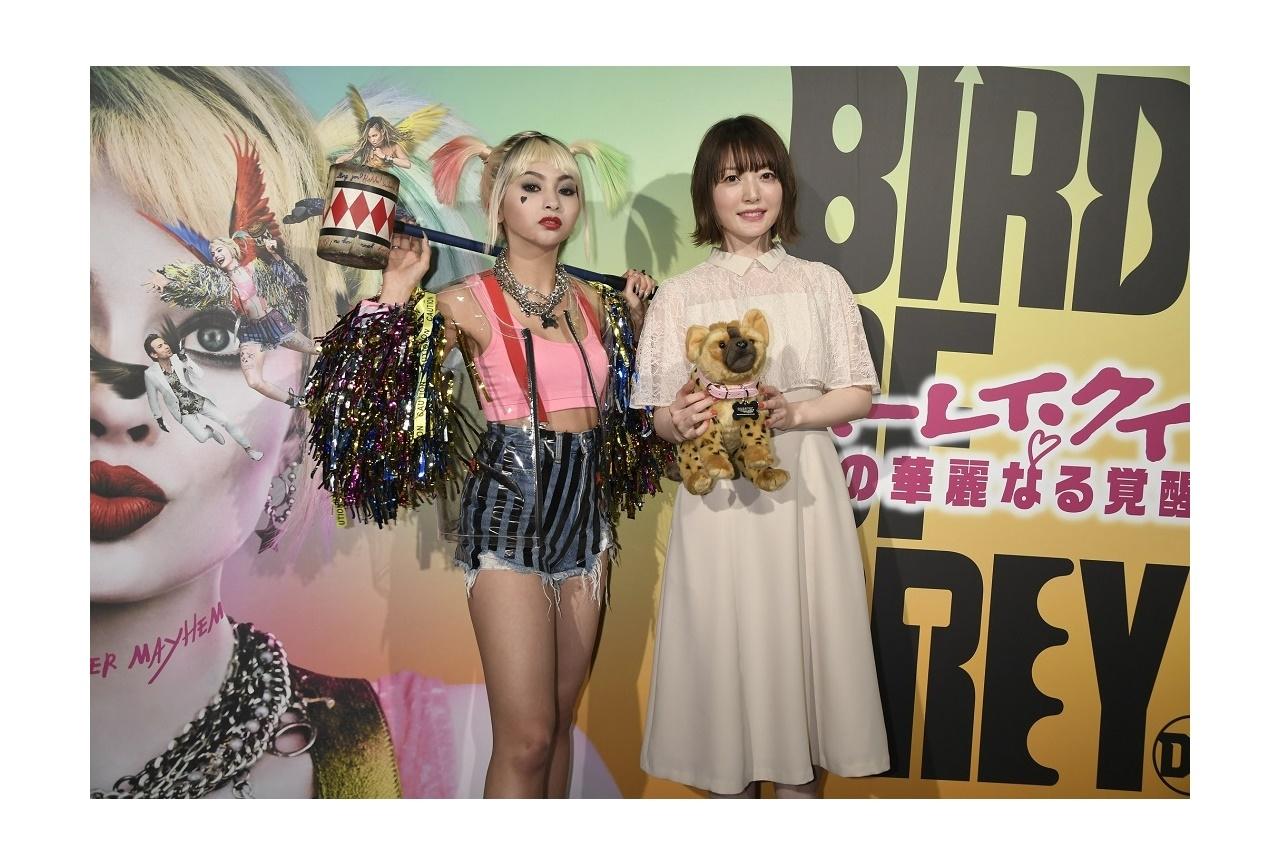 声優・花澤香菜、アメコミ初挑戦映画のトークイベントに登壇