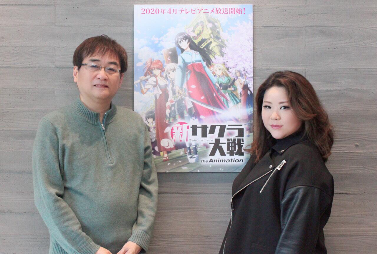 春アニメ『新サクラ大戦』ED主題歌 | 田中公平×藤林聖子 対談