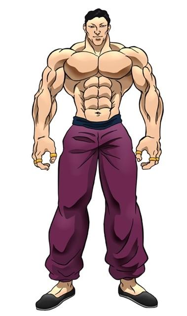アニメ『バキ』大擂台賽編に追加声優として、緒方賢一さん、幸野善之さん、安元洋貴さんら12名が出演決定! キャラクタービジュアルも公開-3