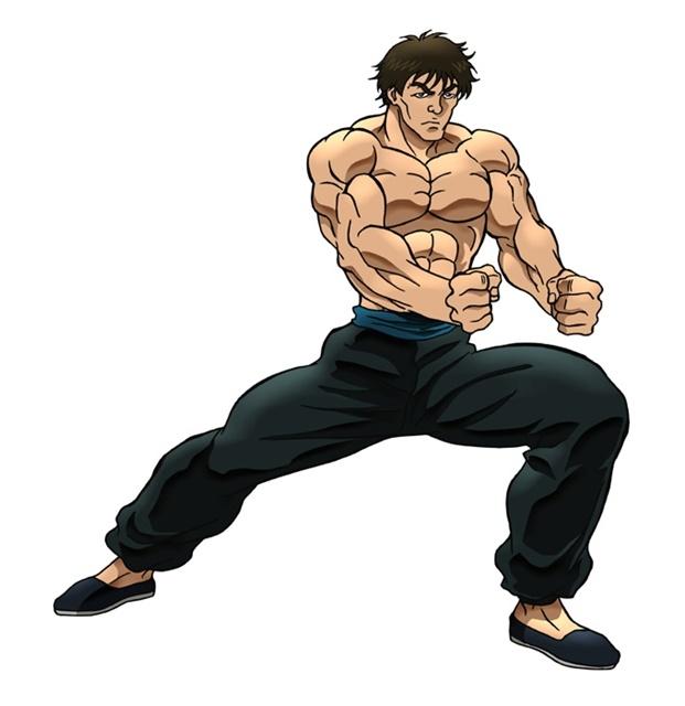 アニメ『バキ』大擂台賽編に追加声優として、緒方賢一さん、幸野善之さん、安元洋貴さんら12名が出演決定! キャラクタービジュアルも公開-7
