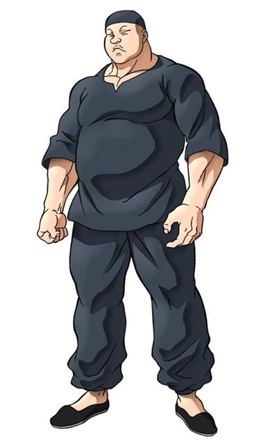 アニメ『バキ』大擂台賽編に追加声優として、緒方賢一さん、幸野善之さん、安元洋貴さんら12名が出演決定! キャラクタービジュアルも公開-11