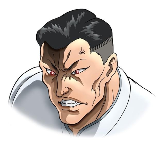 アニメ『バキ』大擂台賽編に追加声優として、緒方賢一さん、幸野善之さん、安元洋貴さんら12名が出演決定! キャラクタービジュアルも公開-16