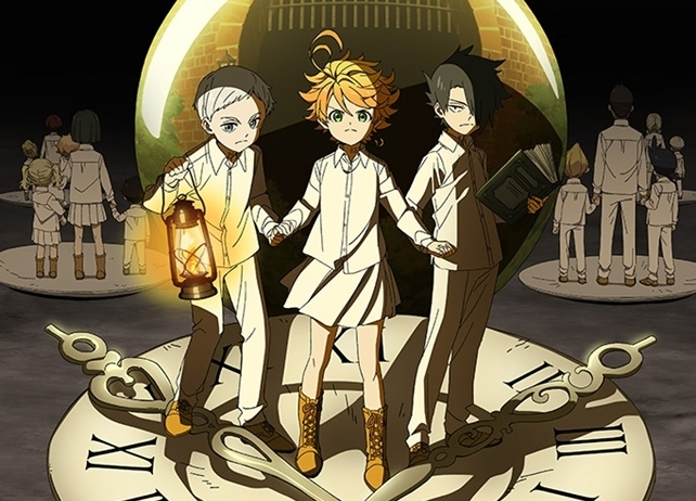 TVアニメ『約束のネバーランド』第1期再放送&第2期が放送延期