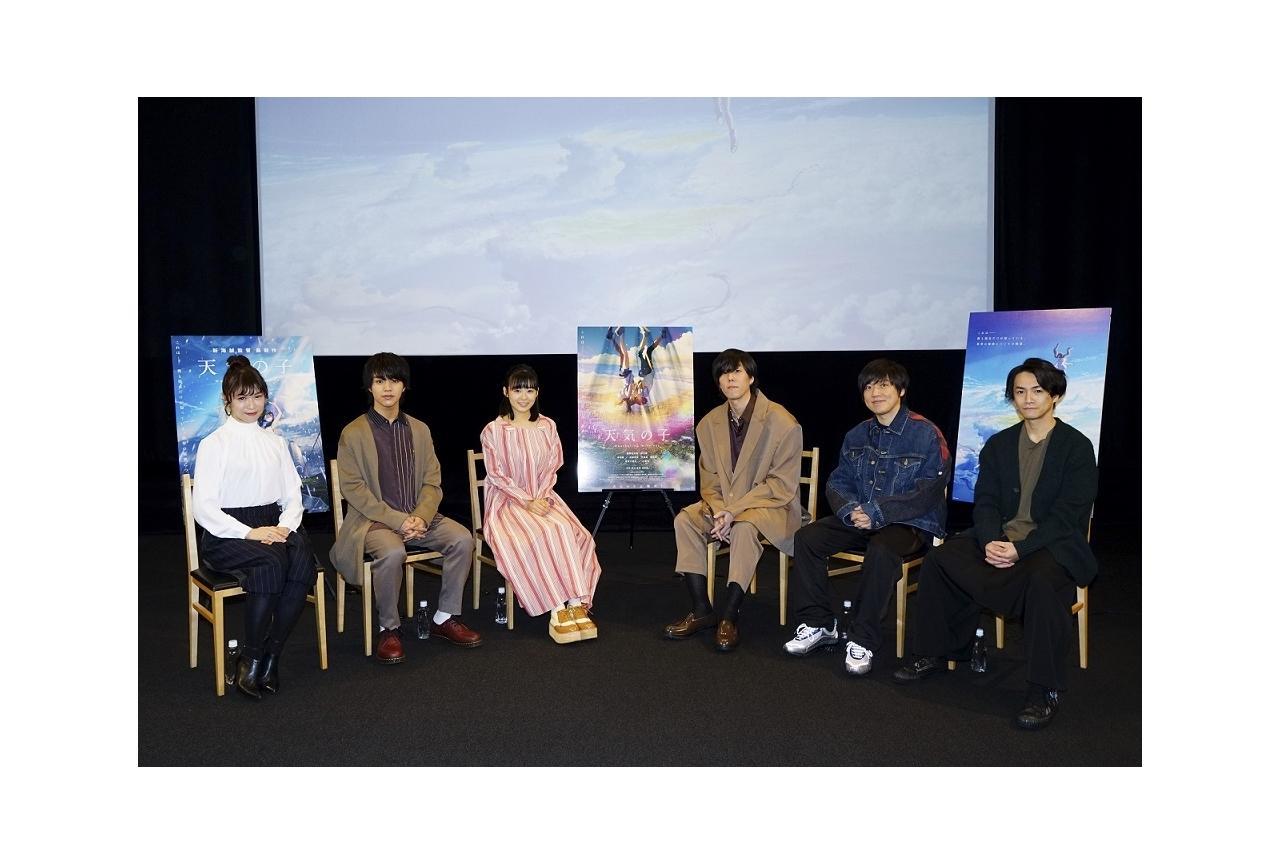 映画『天気の子』BD&DVD特典ビジュアルコメンタリーが一部公開
