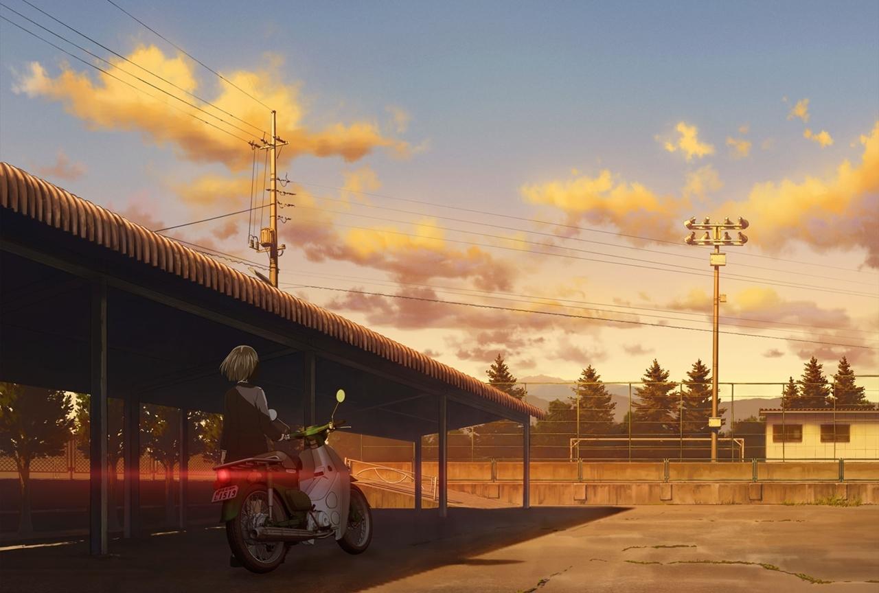 TVアニメ『スーパーカブ』出演声優は夜道雪、七瀬彩夏、日岡なつみ