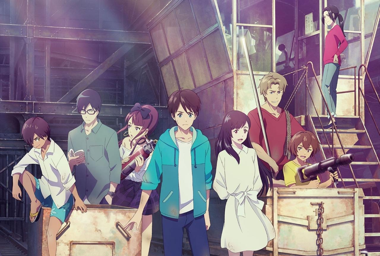 アニメ映画『ぼくらの7日間戦争』アヌシー国際アニメーション映画祭2020に選出