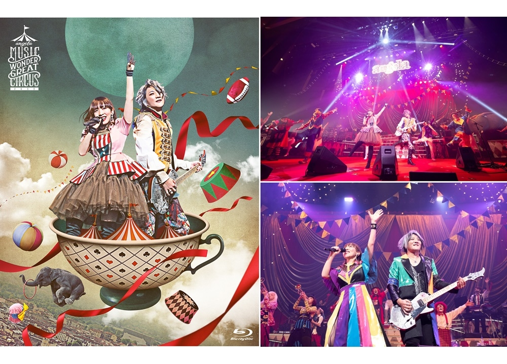 angelaの最新ライブBDより「THE BEYOND」LIVE映像とダイジェスト映像解禁!