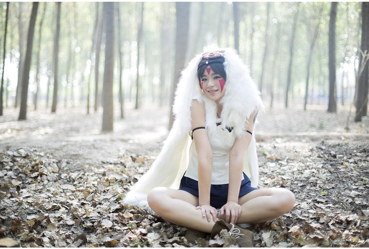 ジブリ映画『もののけ姫』サンのコスプレ特集