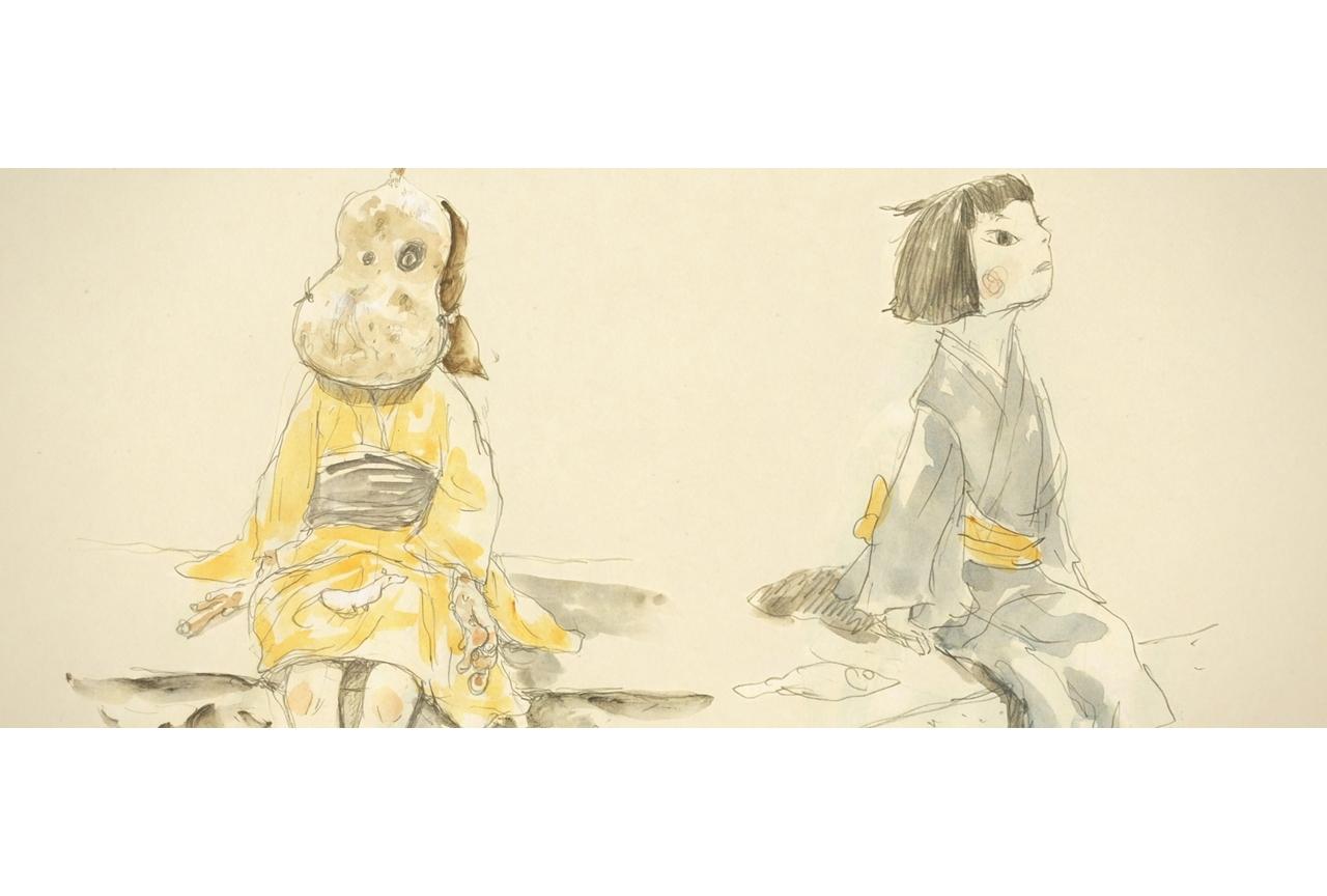 アニメ映画『犬王』湯浅政明監督のコメント、キャラ原案など公開