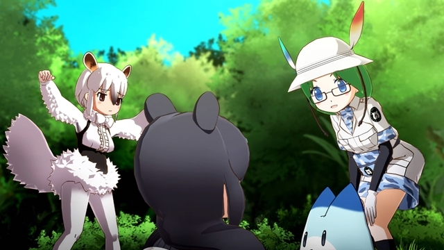 「けものフレンズ3」、動物愛にあふれるシュール&ショートアニメ「ちょこっとアニメ けものフレンズ」を見よう【前編】の画像-1