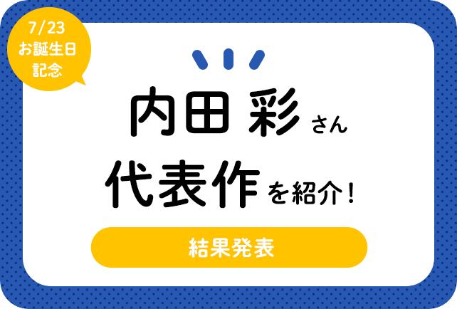 声優・内田彩さん、アニメキャラクター代表作まとめ(2020年版)