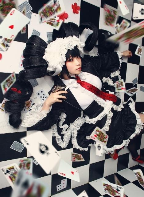 人気作『ダンガンロンパ 希望の学園と絶望の高校生』より、超高校級のギャンブラー・セレスティア・ルーデンベルクのコスプレ特集! ゴスロリ衣装に身を包んだセレスをお届け!