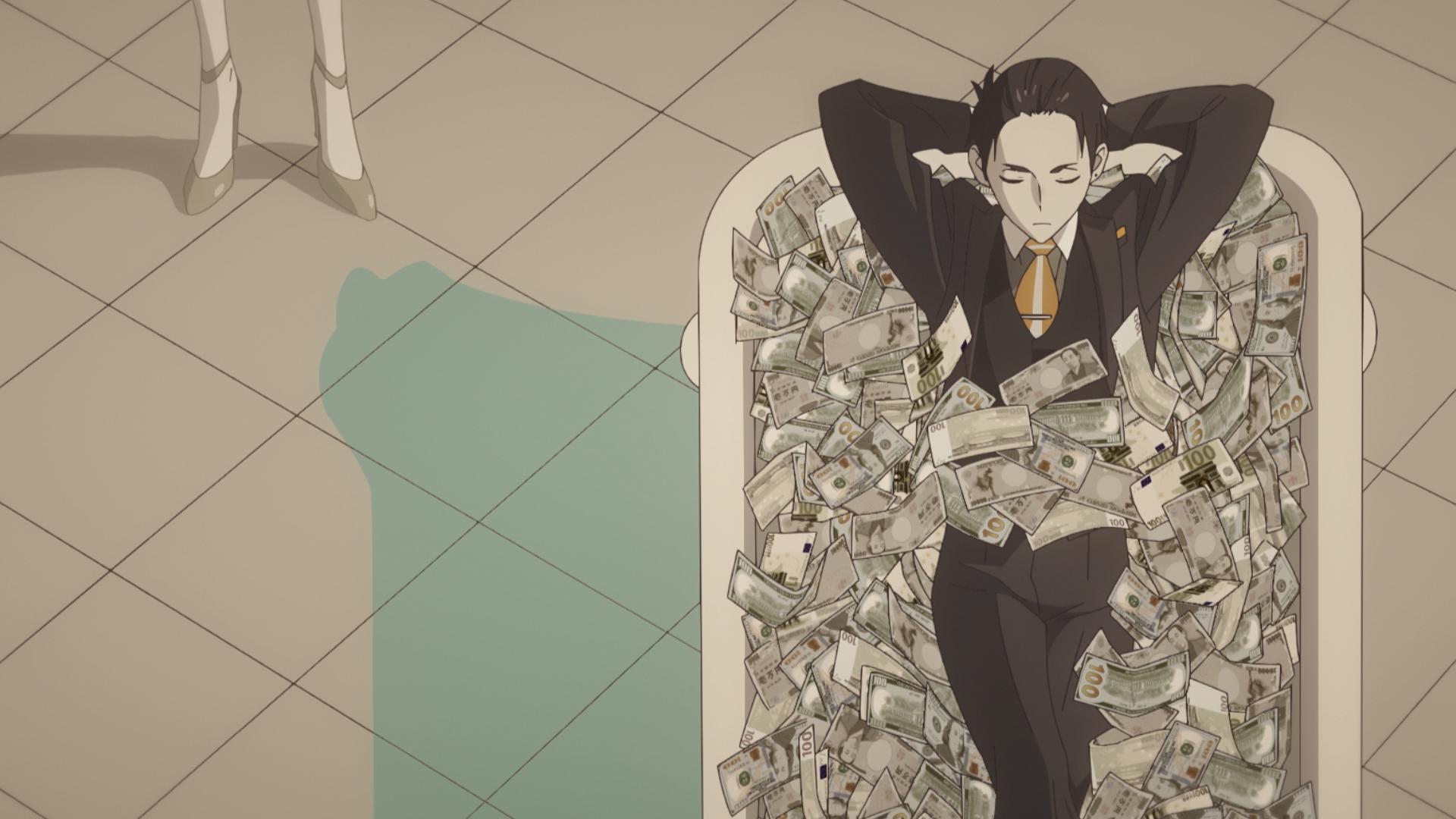 富豪 刑事 アニメ 「富豪刑事」犯人の謎を探る大助だが、AI執事が指示を拒否!? 第6話先行カット