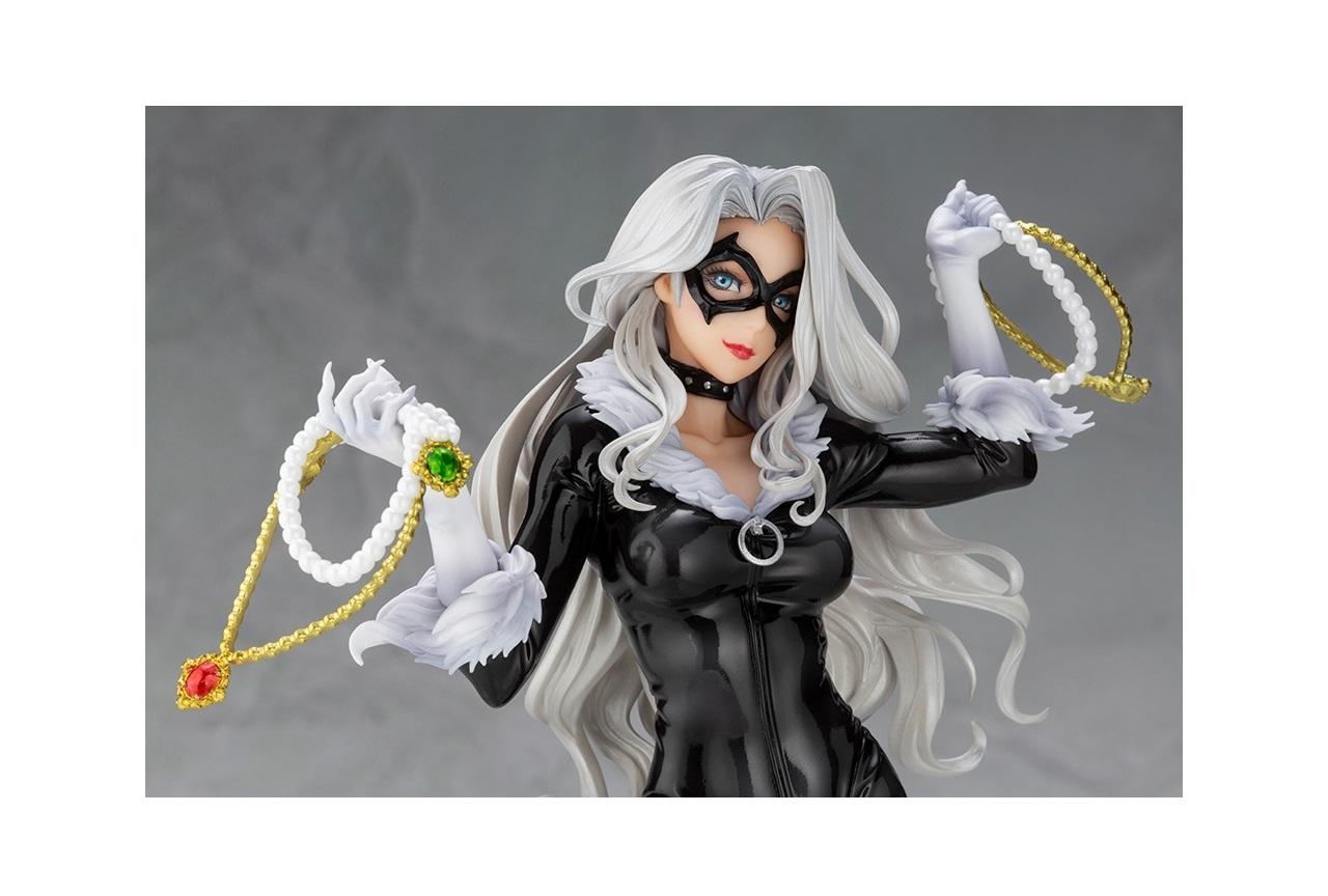 『スパイダーマン』のブラックキャットが美少女フィギュア化