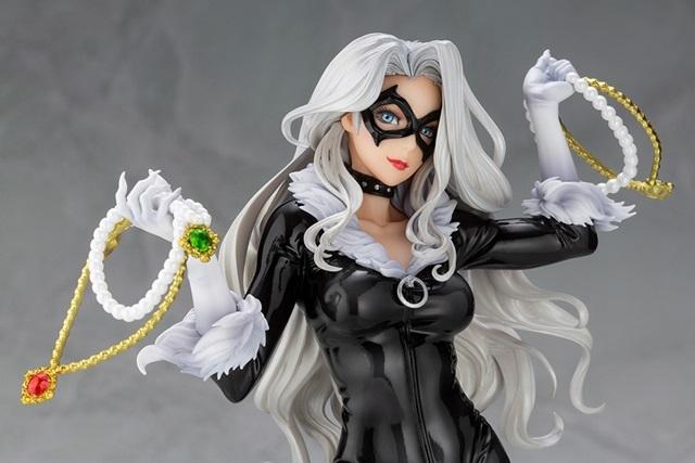 「MARVEL美少女」シリーズより、『スパイダーマン』の「ブラックキャット」がスケールフィギュアで登場!こだわりの塗装と緻密な造形に目を奪われる逸品!【今なら18%OFF!】