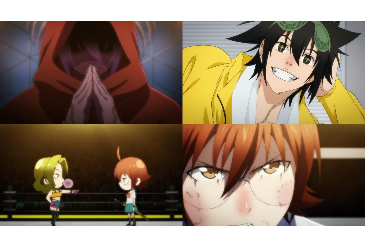 夏アニメ『ゴッド・オブ・ハイスクール』第3話場面カット解禁