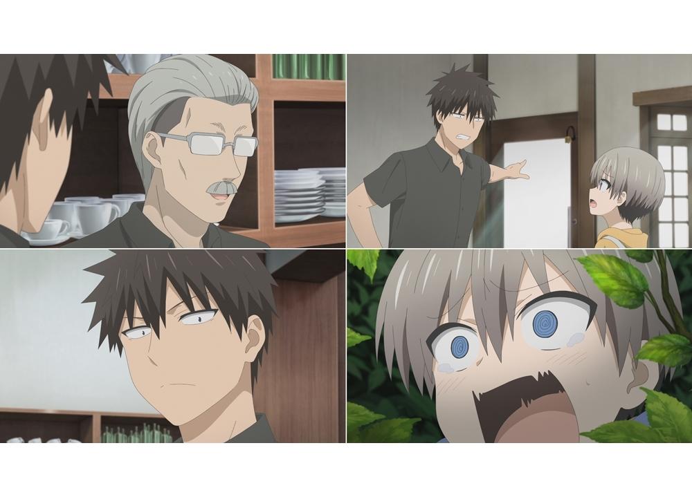 夏アニメ『宇崎ちゃんは遊びたい!』第2話「マスターは垣間見たい!」の先行カット到着!