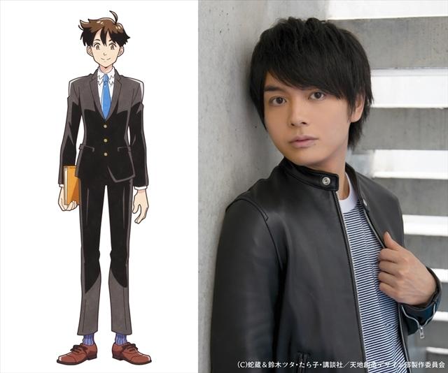 2021年放送予定のTVアニメ『天地創造デザイン部』キャラクタービジュアル公開!第1弾出演声優として榎木淳弥さん、原由実さんが発表!コメントも到着-2