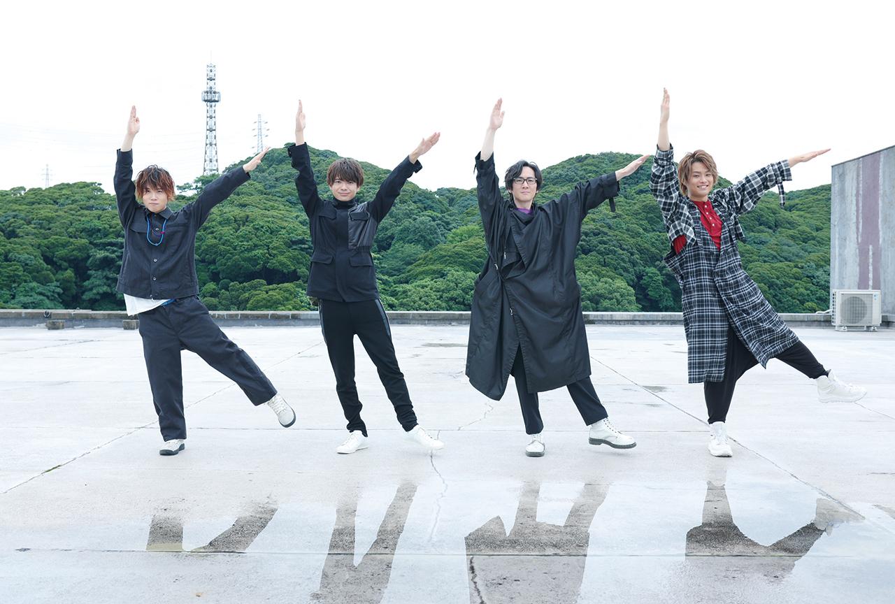 『K4カンパニー』ベストアルバム『Message』小松昌平、益山武明、増元拓也、濱健人、インタビュー