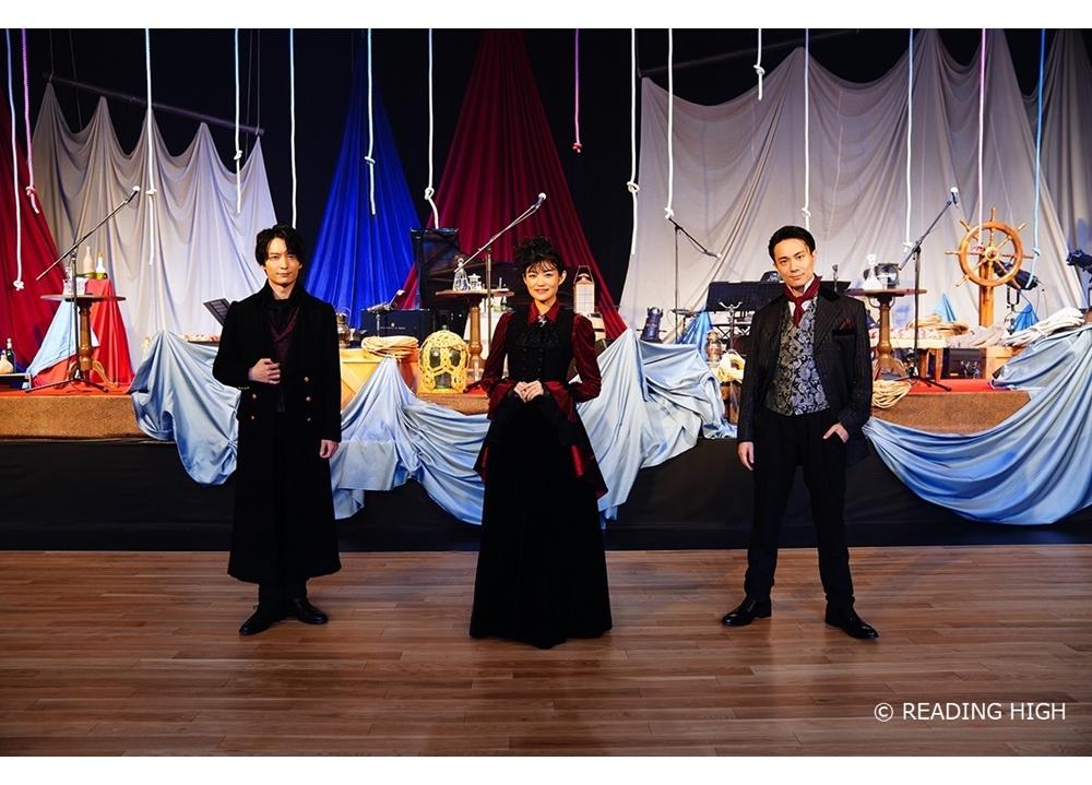 3.5次元音楽朗読劇『THANATOS~タナトス~』初日公演の公式レポ公開
