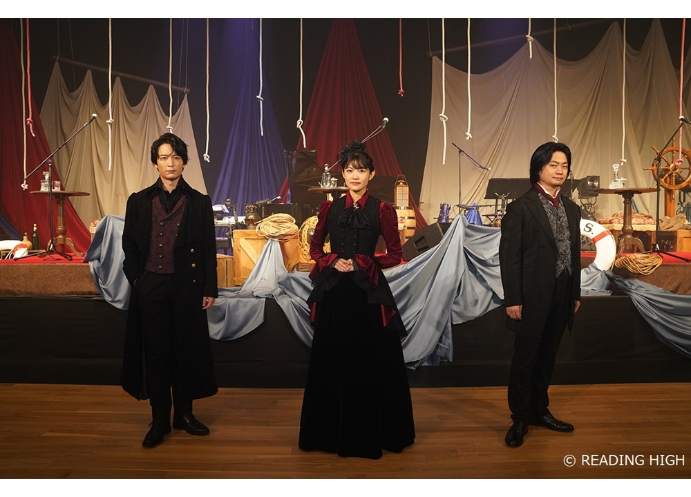 3.5次元音楽朗読劇『THANATOS~タナトス~』千秋楽公演の公式レポ到着