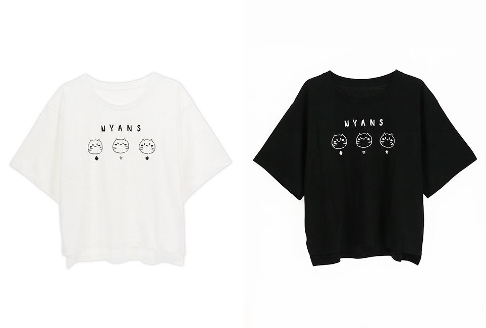 『だかいち』NYANS Tシャツ(全2種)が発売決定【ACOS】