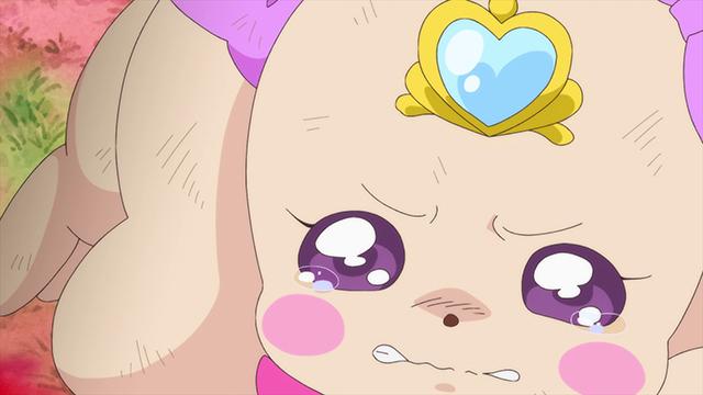 『ヒーリングっど♥プリキュア』第19話「ラテを守って…!祈りの風と奇跡の少女」より先行カット到着! ラテが体調を崩してしまい、メガビョーゲンの発生を察知できず……