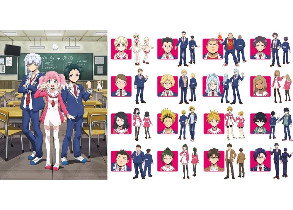 秋アニメ『無能なナナ』中原麻衣・増田俊樹ら追加声優16名解禁!