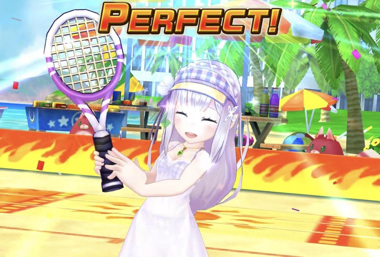 『白猫テニス』×『リゼロ』第2弾コラボがスタート