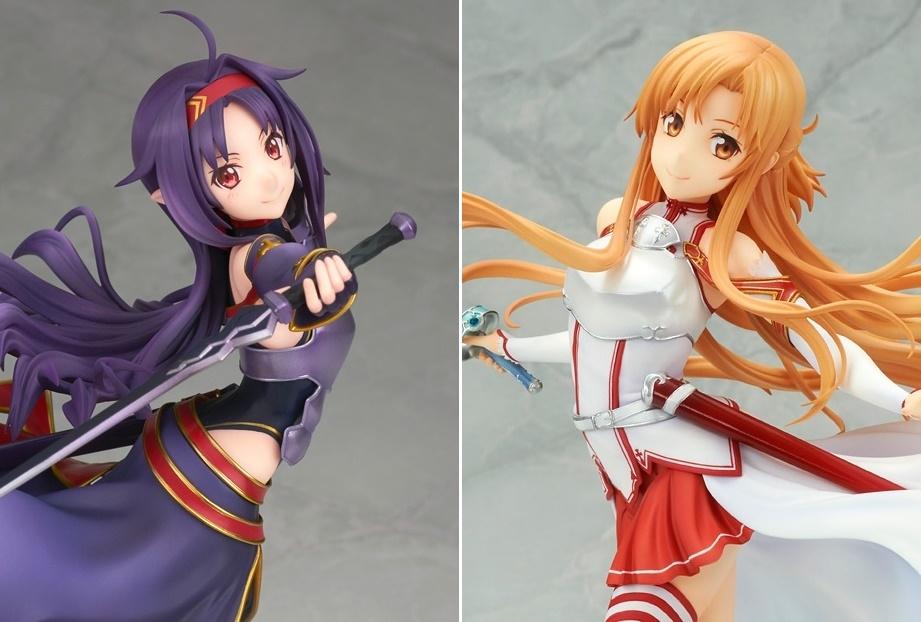 『SAO』ユウキの華麗な剣舞アクションがフィギュア化/アスナも再販決定