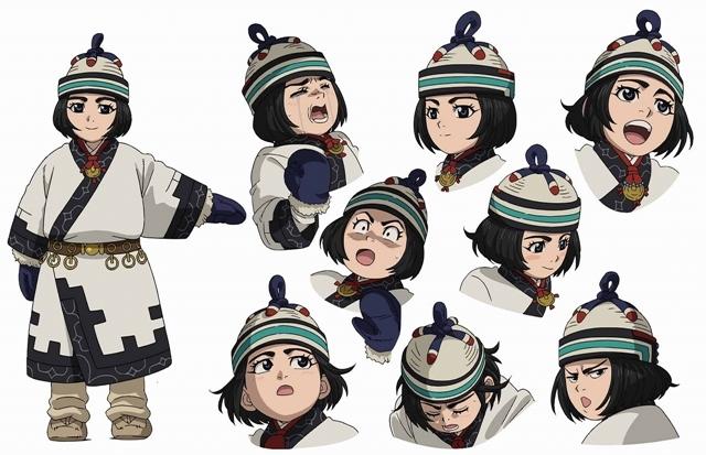 秋アニメ『ゴールデンカムイ』第3期、新キャラクター・エノノカ役として市ノ瀬加那さんが出演! コメントが到着-1