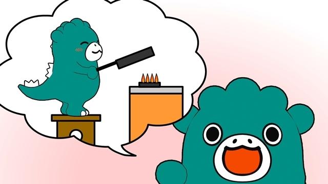 ショートアニメ『ただいま!ちびゴジラ』最新回公開、追加声優に立花日菜さん・高宮彩織さん・松田颯水さん決定! メインキャスト5名のコメントも解禁-2