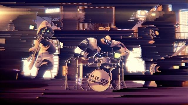 夏アニメ『ド級編隊エグゼロス』OPテーマ『Wake Up H×ERO! feat.炎城烈人(CV:松岡禎丞)』MVフル公開! 「HXEROS SYNDROMES」はバーチャル活動を宣言の画像-1