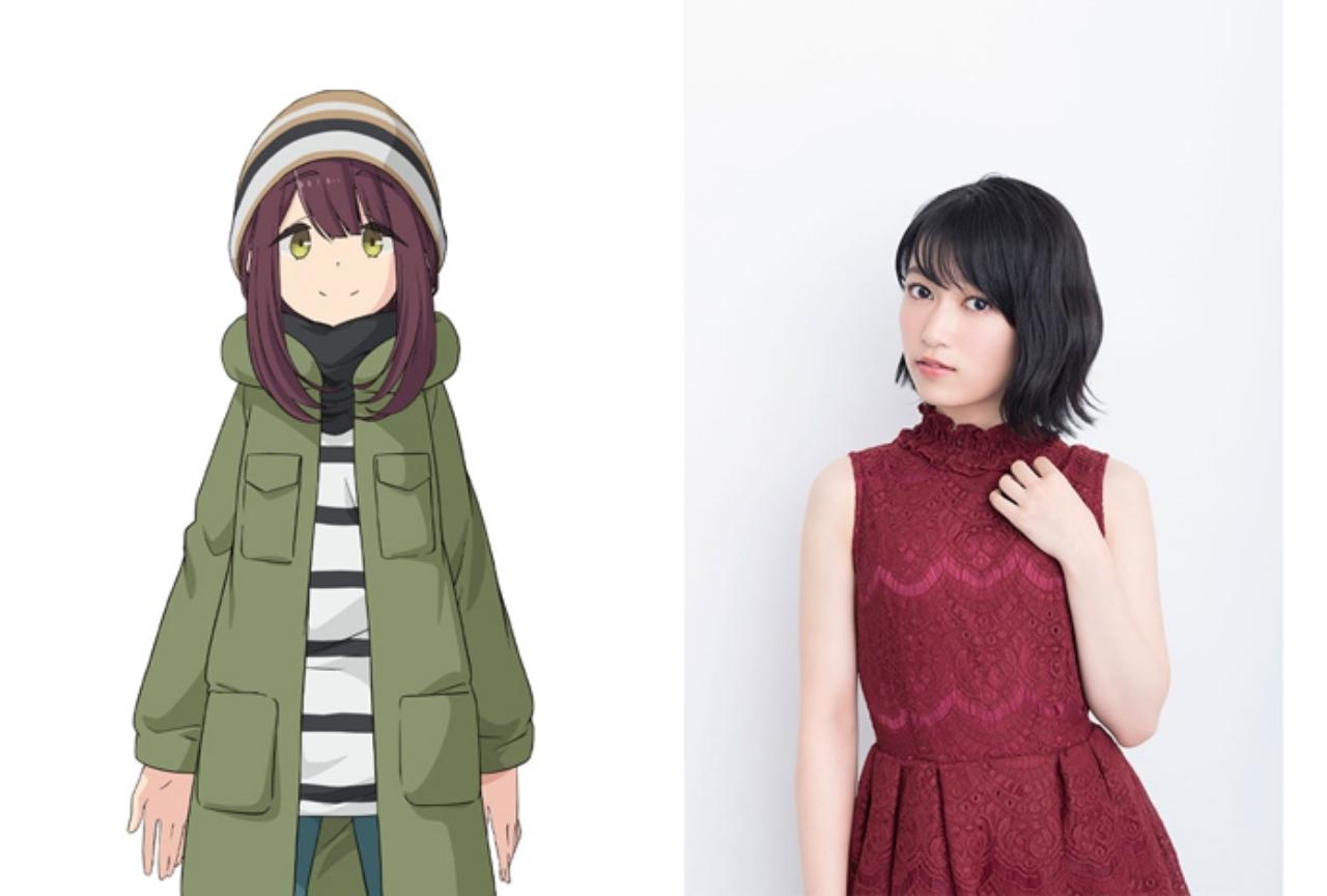 冬アニメ『ゆるキャン△』第2期に黒沢ともよが追加声優として出演
