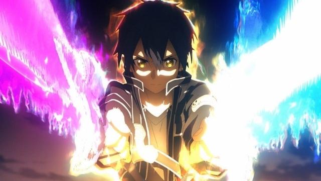 夏アニメ『ソードアート・オンライン アリシゼーション War of Underworld』2ndクールより、第20話「夜空の剣」の先行カット公開!奇怪な姿へと変貌したガブリエルと剣を交え……-2