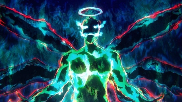 夏アニメ『ソードアート・オンライン アリシゼーション War of Underworld』2ndクールより、第20話「夜空の剣」の先行カット公開!奇怪な姿へと変貌したガブリエルと剣を交え……-3
