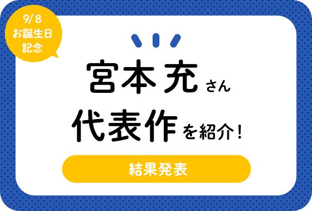 声優・宮本充さん、アニメキャラクター代表作まとめ(2020年版)