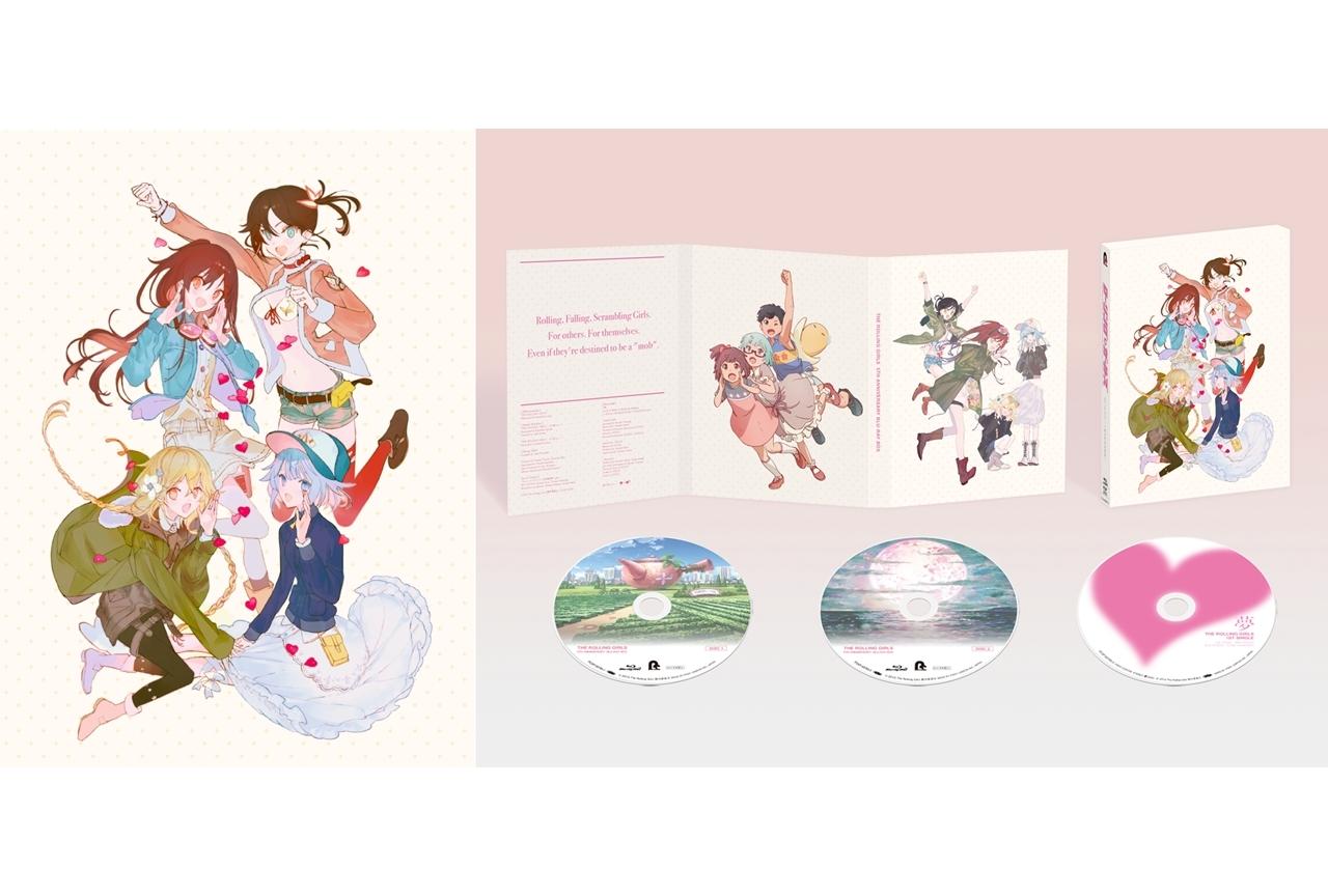 TVアニメ『ローリング☆ガールズ』5周年記念Blu-ray BOXのデザインと詳細が発表
