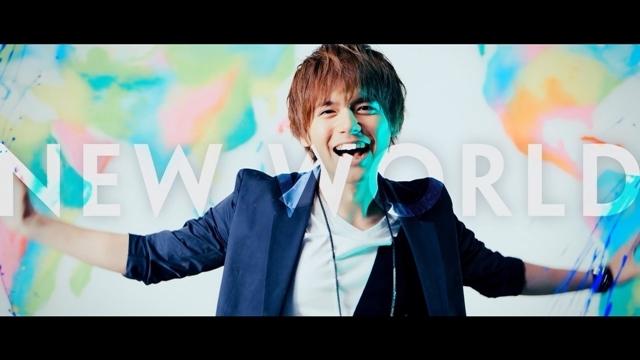 声優・アーティスト内田雄馬さん、デビュー曲『NEW WORLD』英語バージョンのLyric Videoを公開!