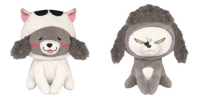 TVアニメ『犬と猫どっちも飼ってると毎日たのしい』より、「犬くん」&「猫さま」のぬいぐるみ&ティッシュカバーが登場!-1