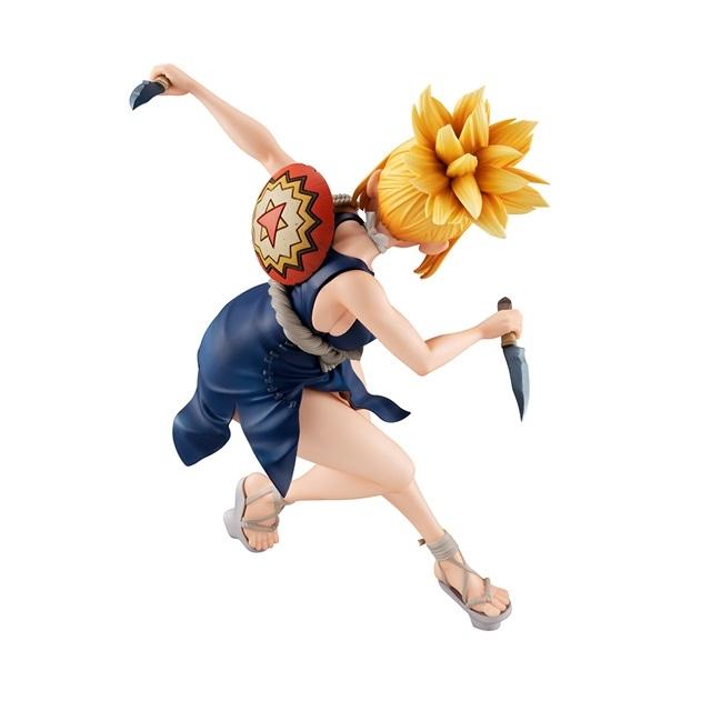 アニメ『Dr.STONE』より、可憐な女戦士「コハク」がフィギュア化!躍動感あふれるポージングと、きわどすぎる服装から目が離せない!【今なら590ポイント還元】