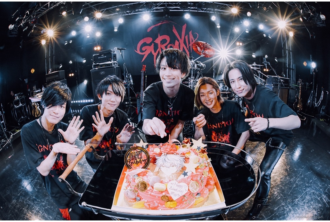『バンドリ!』発のボーイズバンド・GYROAXIAのライブ開催