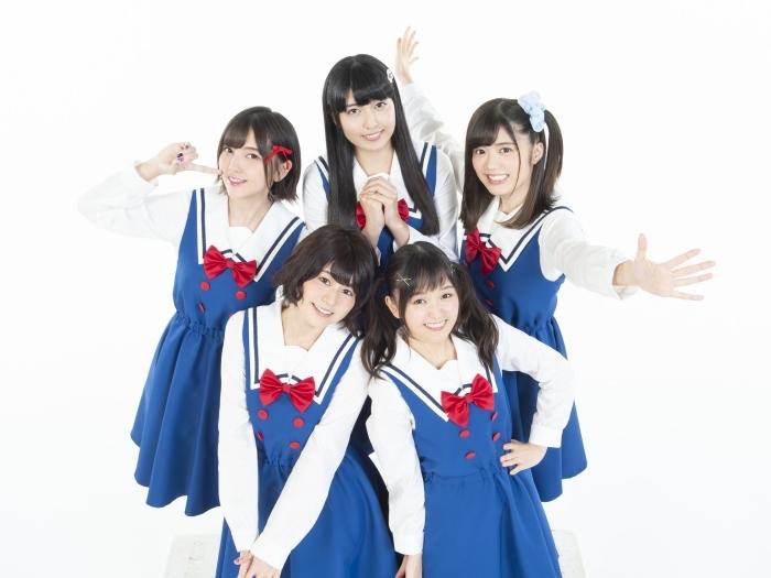 TVアニメ『私に天使が舞い降りた!』のメイン声優5人で構成されるユニット「わたてん☆5」の1stアルバムが発売決定! 初回限定盤同梱DVDにはメイキング映像も収録