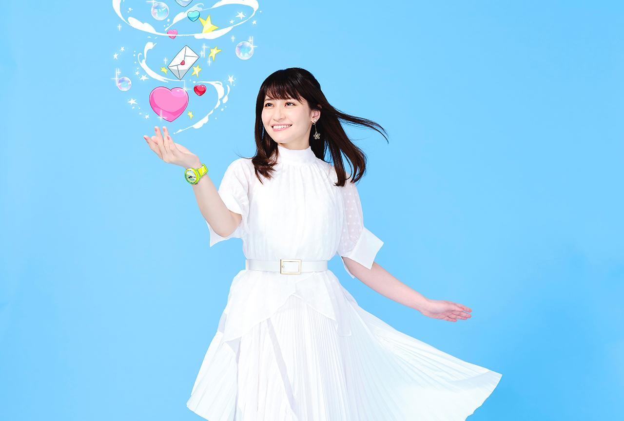 中島 愛、初のキャラソンアルバムインタビュー
