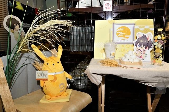 ツキプロ公式カフェ『池袋月野亭』9月の「おつきみや」店内&試食レポート|お当番キャラたちの柔らかい雰囲気を反映したような店内に、秋らしい食材こだわりのフード&ドリンク♪-1