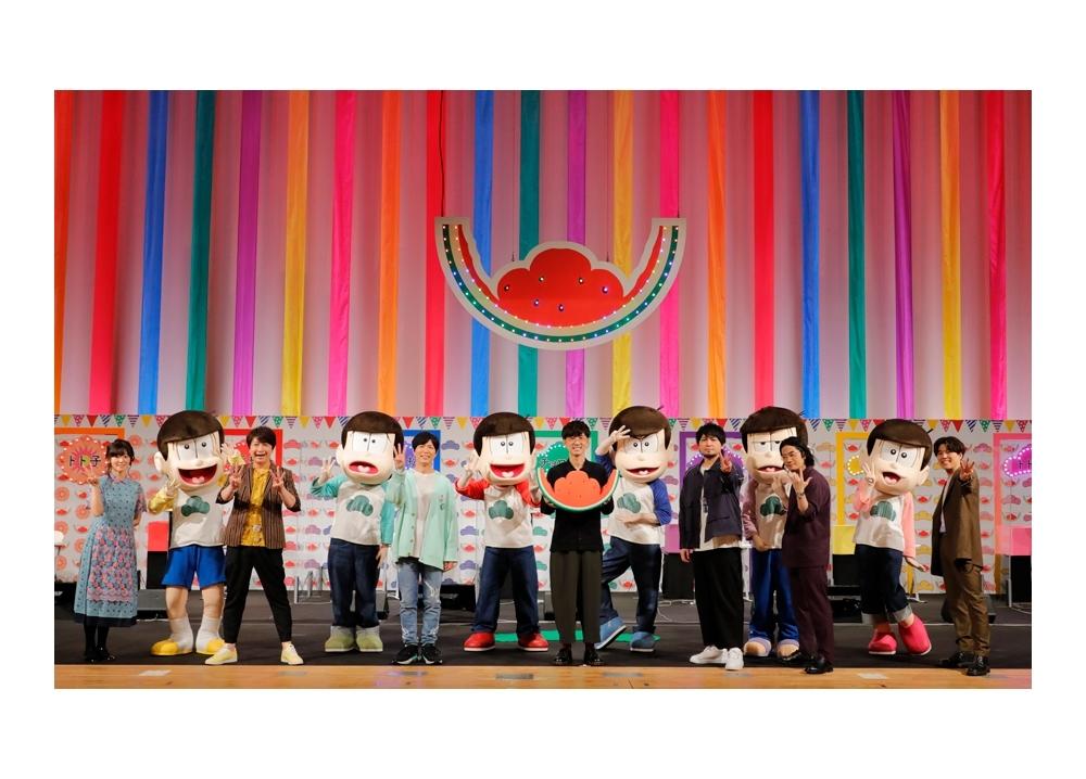 『おそ松さん』第3期放送記念イベントに、櫻井孝宏ら声優陣が集結