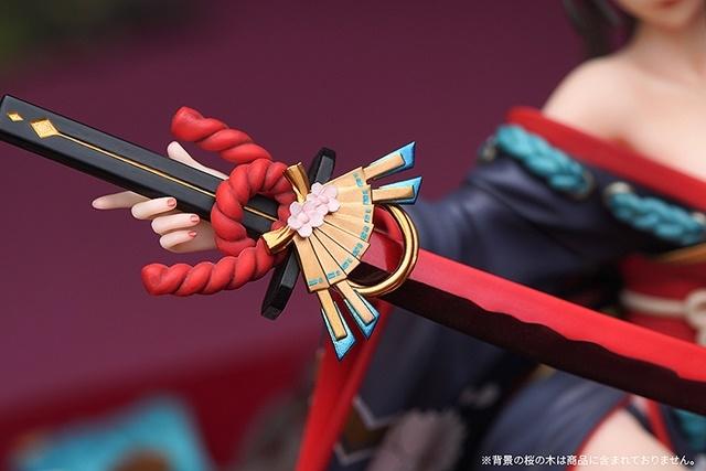スマフォゲーム『陰陽師』より、妖刀に取り憑かれた少女「妖刀姫」の1/8スケールフィギュアが登場!【今なら19%OFF!】