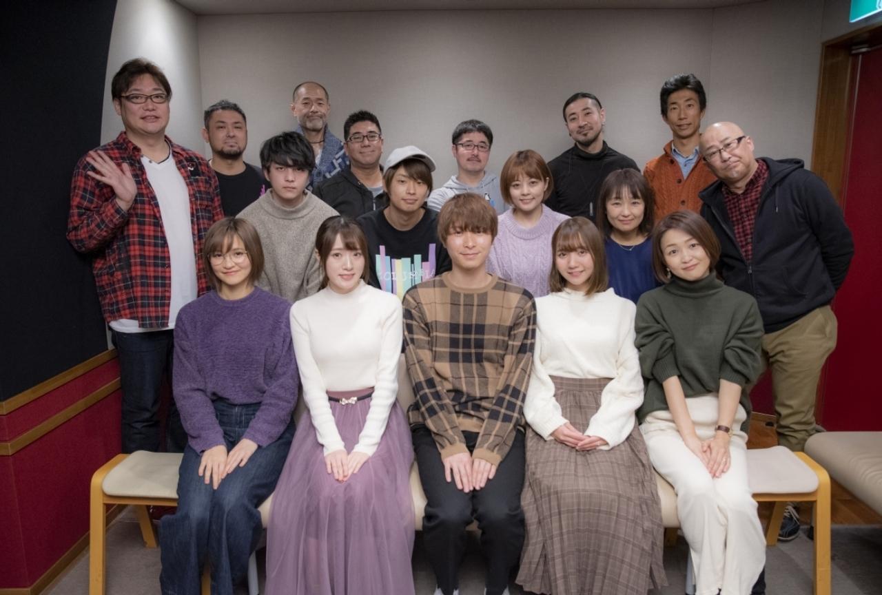 秋アニメ『俺100』メイン声優公式インタビュー&集合写真が公開