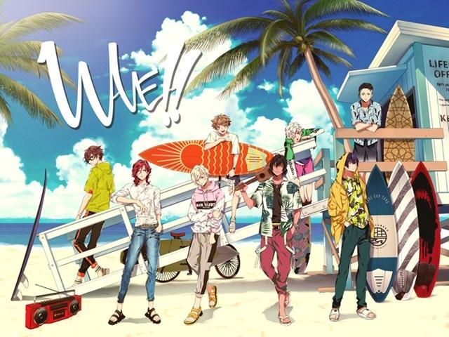 アニメ映画『WAVE!!』第一章 上映直前ガイド番組「第1Show must go on」が公開/前野智昭さん、小笠原仁さん、中島ヨシキさんが作品を熱弁!