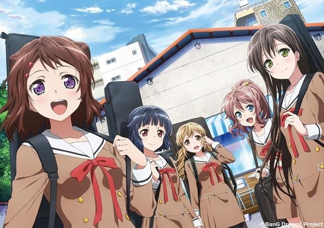 TVアニメ『BanG Dream!(バンドリ!)』の地上波再放送が10月1日(木)からスタート/「バンドリちゃんねる☆」での同時放送も決定